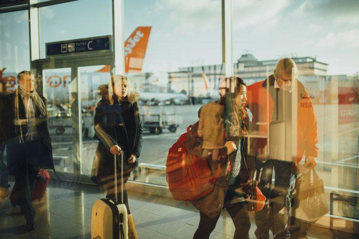 Aéroport, Voyageurs, Personnes, D'Affaires, Vol